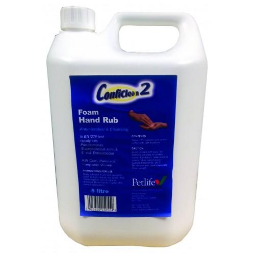 FOAM HAND RUB 5LTR CONFICLEAN2 (300CFR500)